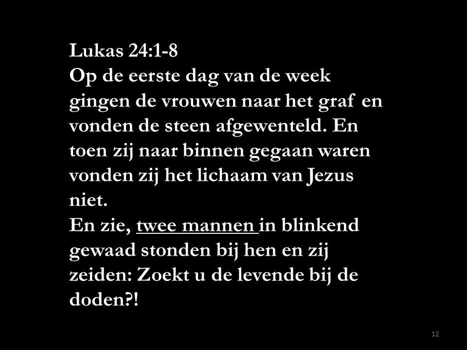Lukas 24:1-8