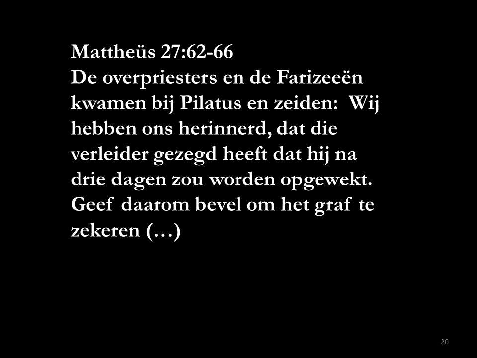 Mattheüs 27:62-66