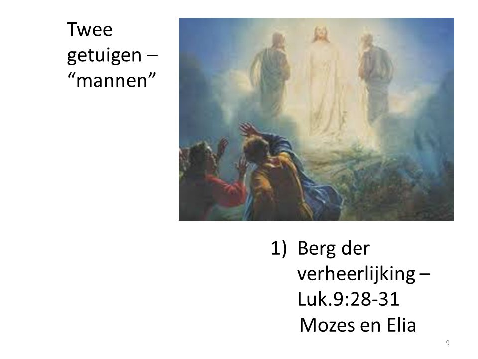 Twee getuigen – mannen
