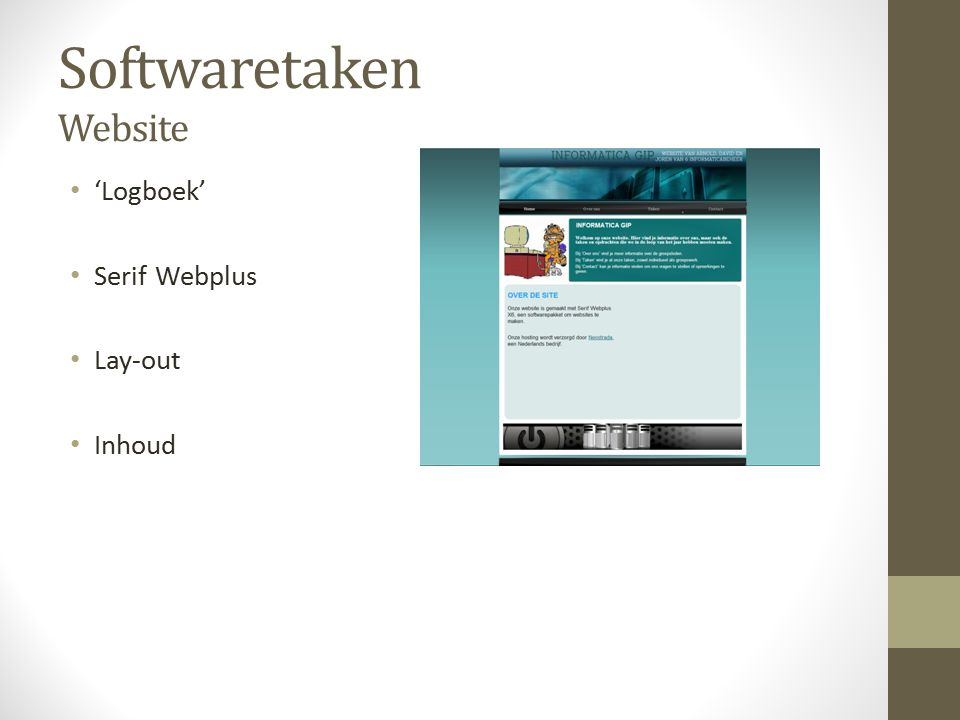 Softwaretaken Website