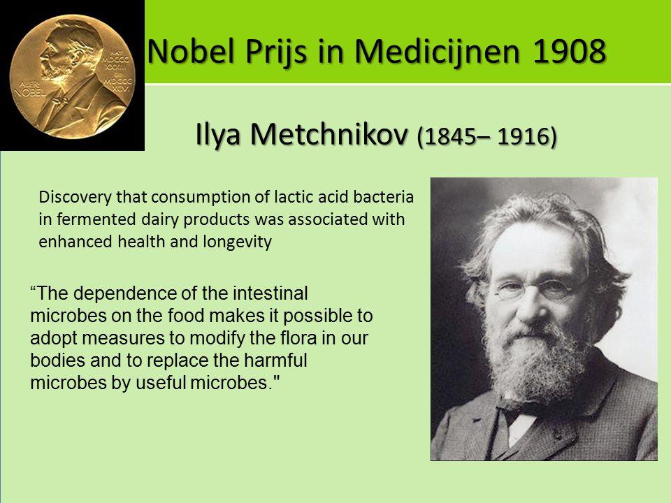 Nobel Prijs in Medicijnen 1908