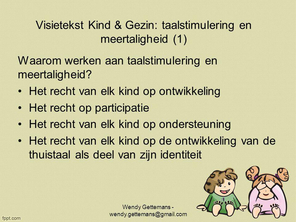 Visietekst Kind & Gezin: taalstimulering en meertaligheid (1)