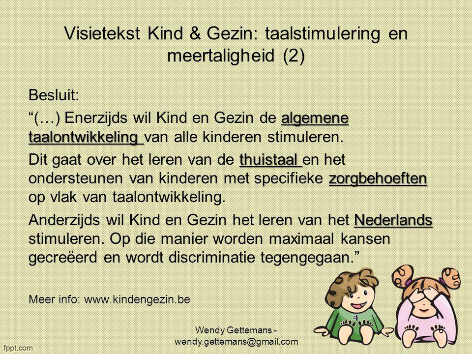 Visietekst Kind & Gezin: taalstimulering en meertaligheid (2)