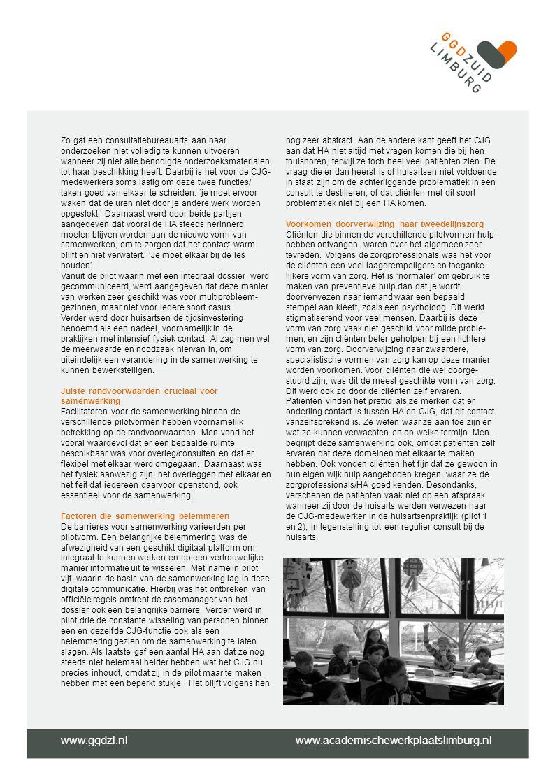 www.ggdzl.nl www.academischewerkplaatslimburg.nl