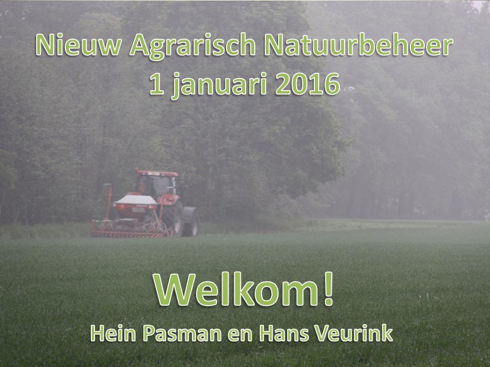 Nieuw Agrarisch Natuurbeheer Hein Pasman en Hans Veurink