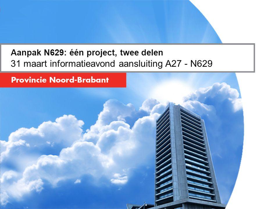 Aanpak N629: één project, twee delen