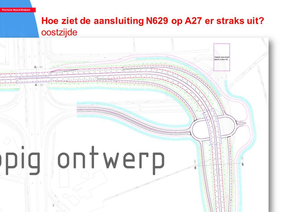 Hoe ziet de aansluiting N629 op A27 er straks uit