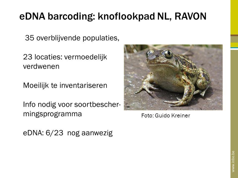 eDNA barcoding: knoflookpad NL, RAVON