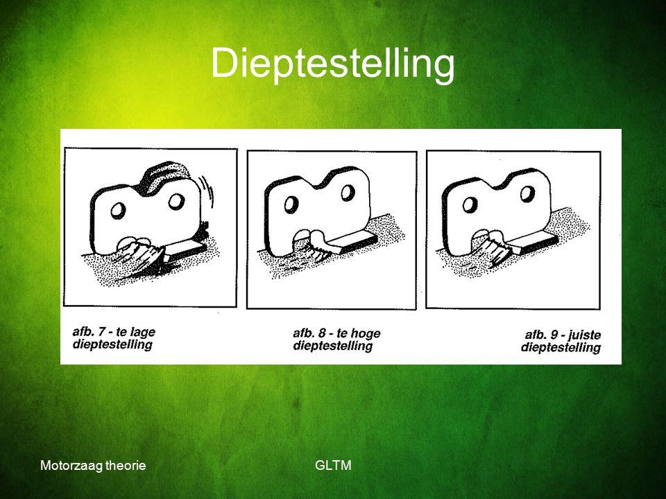 Dieptestelling Motorzaag theorie GLTM