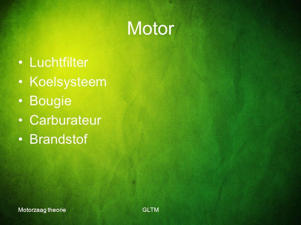 Motor Luchtfilter Koelsysteem Bougie Carburateur Brandstof