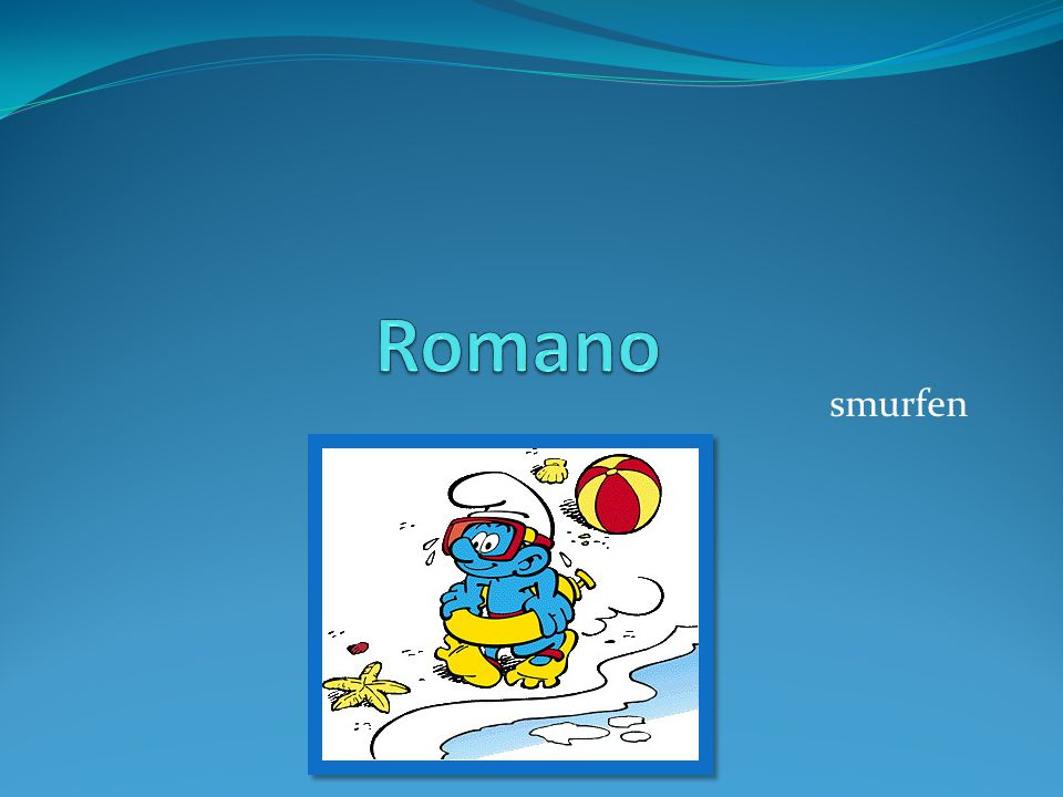 Romano smurfen