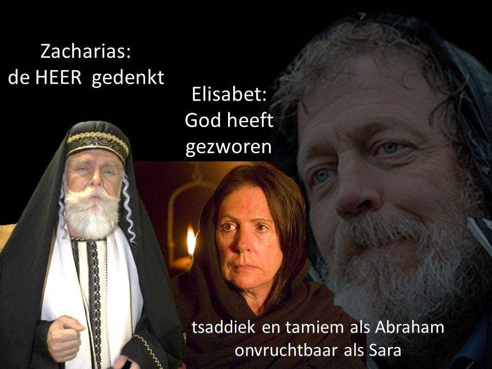 tsaddiek en tamiem als Abraham