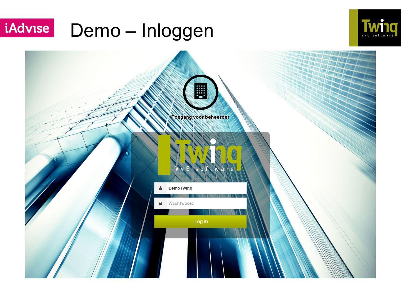 Demo – Inloggen Meerdere korte filmpjes