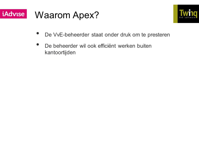 Waarom Apex De VvE-beheerder staat onder druk om te presteren
