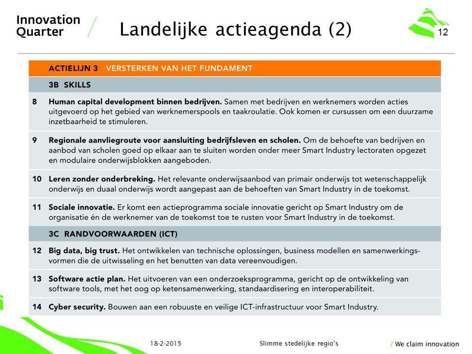 Landelijke actieagenda (2)