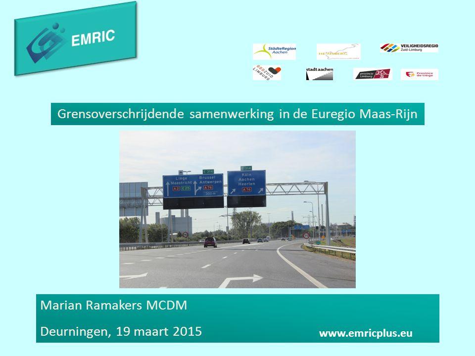 Grensoverschrijdende samenwerking in de Euregio Maas-Rijn