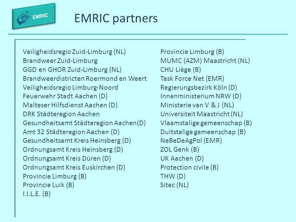 EMRIC partners Veiligheidsregio Zuid-Limburg (NL)