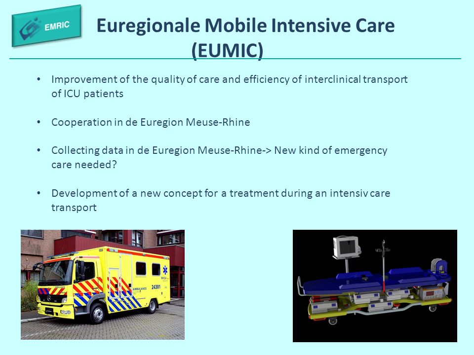 Euregionale Mobile Intensive Care (EUMIC)
