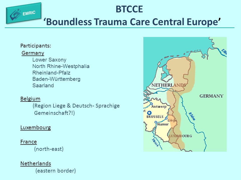 BTCCE 'Boundless Trauma Care Central Europe'