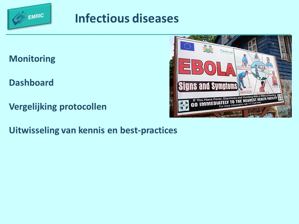Infectious diseases Monitoring Dashboard Vergelijking protocollen