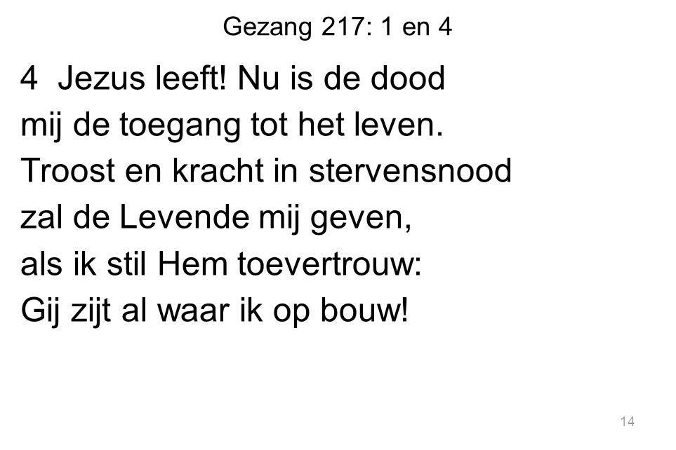Gezang 217: 1 en 4