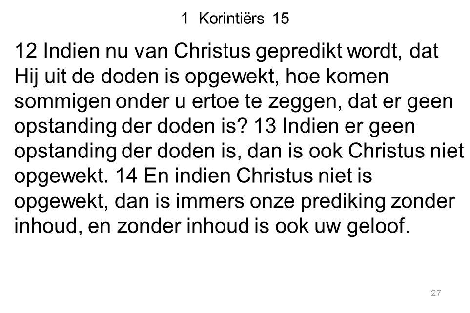 1 Korintiërs 15