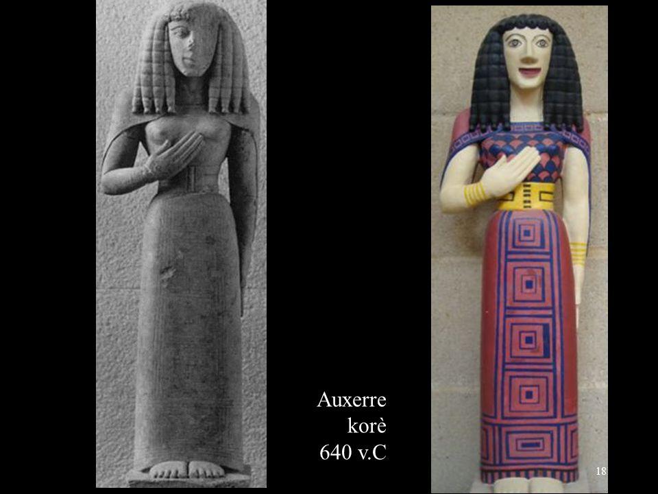 Auxerre korè 640 v.C