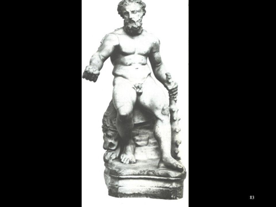 Herakles Epitrapezios van Lysippos 325-300