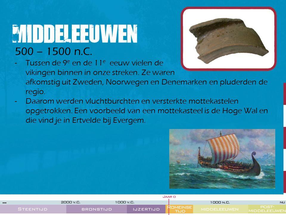 500 – 1500 n.C.