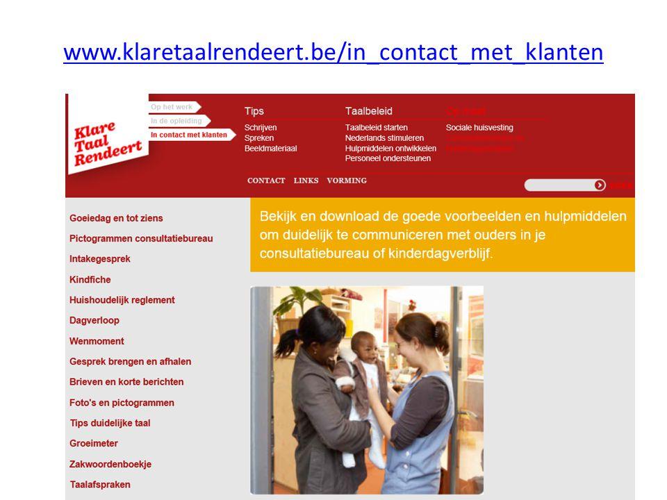 www.klaretaalrendeert.be/in_contact_met_klanten