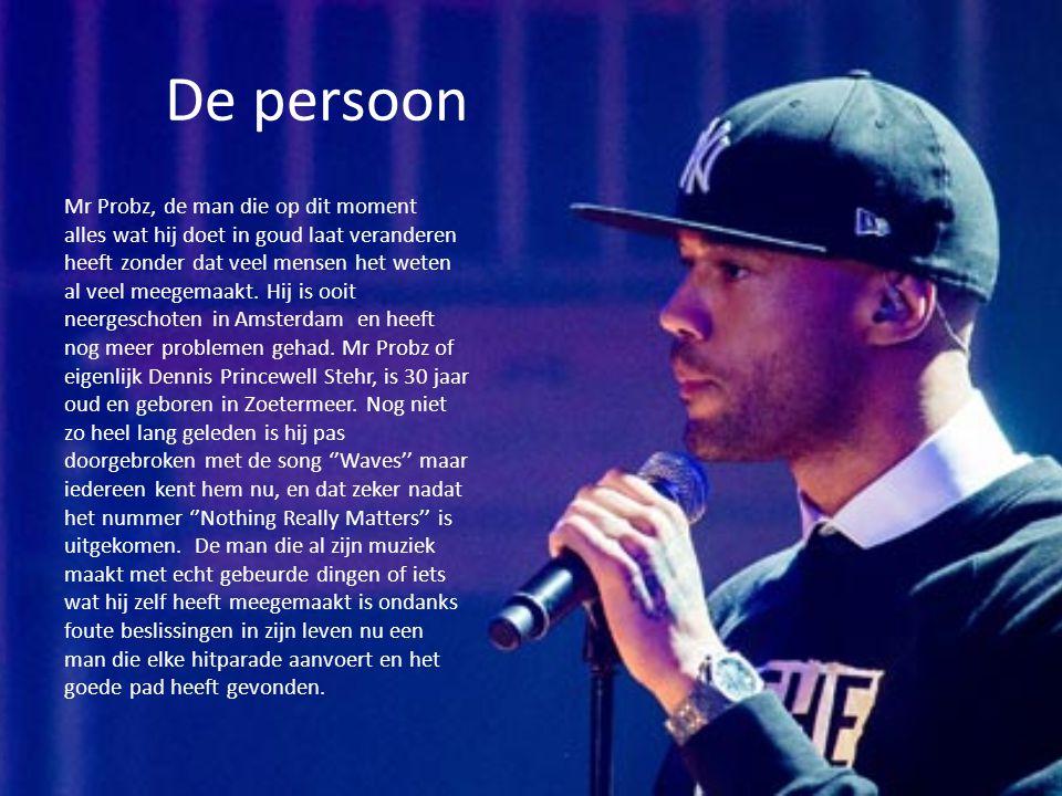 De persoon