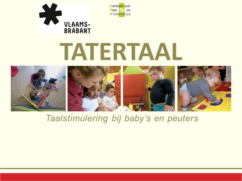 Taalstimulering bij baby's en peuters