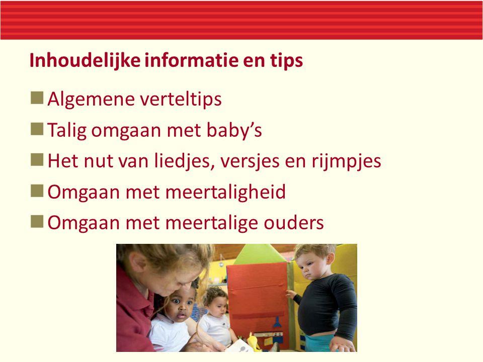 Inhoudelijke informatie en tips