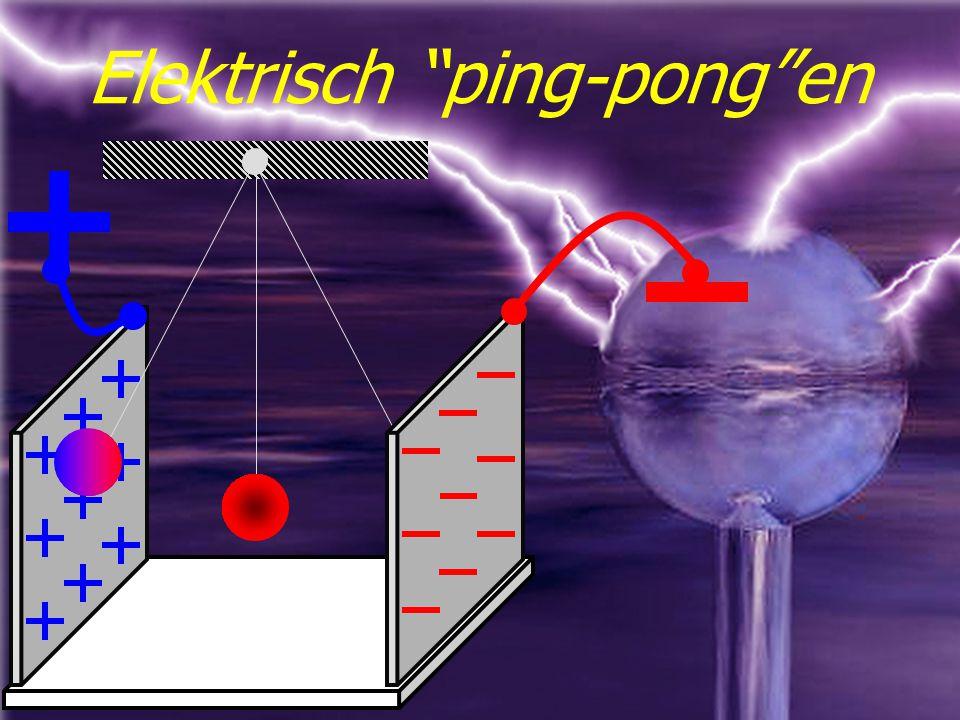 Elektrisch ping-pong en