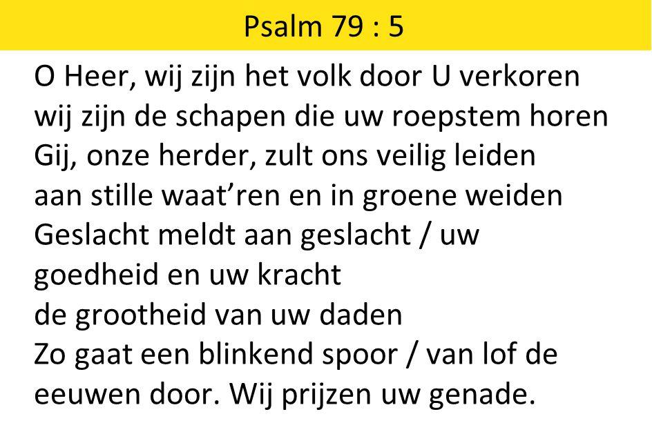 Psalm 79 : 5