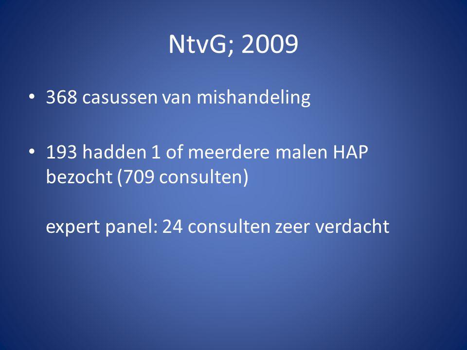 NtvG; 2009 368 casussen van mishandeling