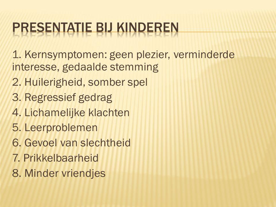 Presentatie bij kinderen