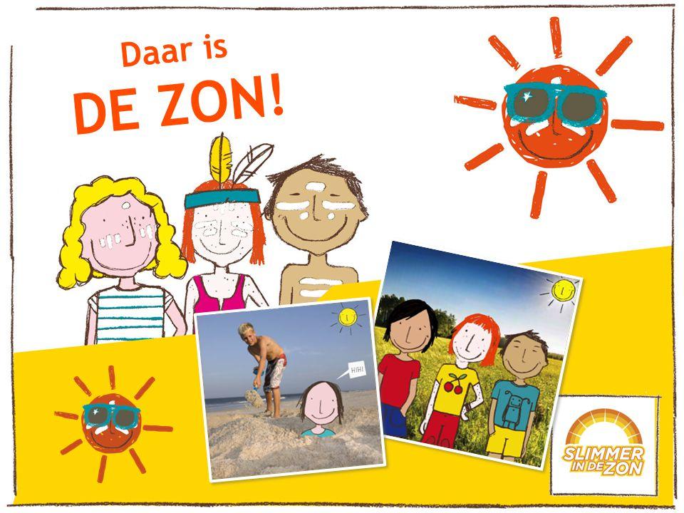 Daar is DE ZON. Daar is de zon eindelijk weer.