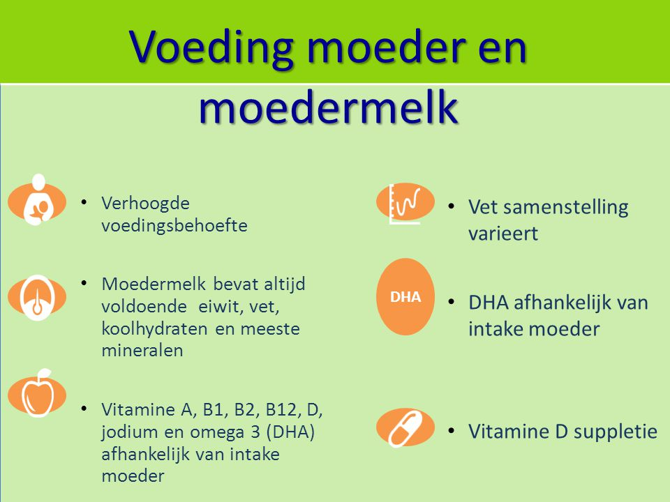 Voeding moeder en moedermelk