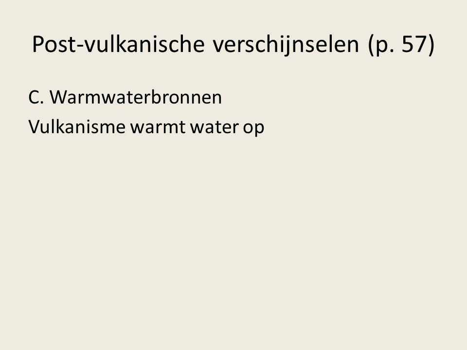Post-vulkanische verschijnselen (p. 57)