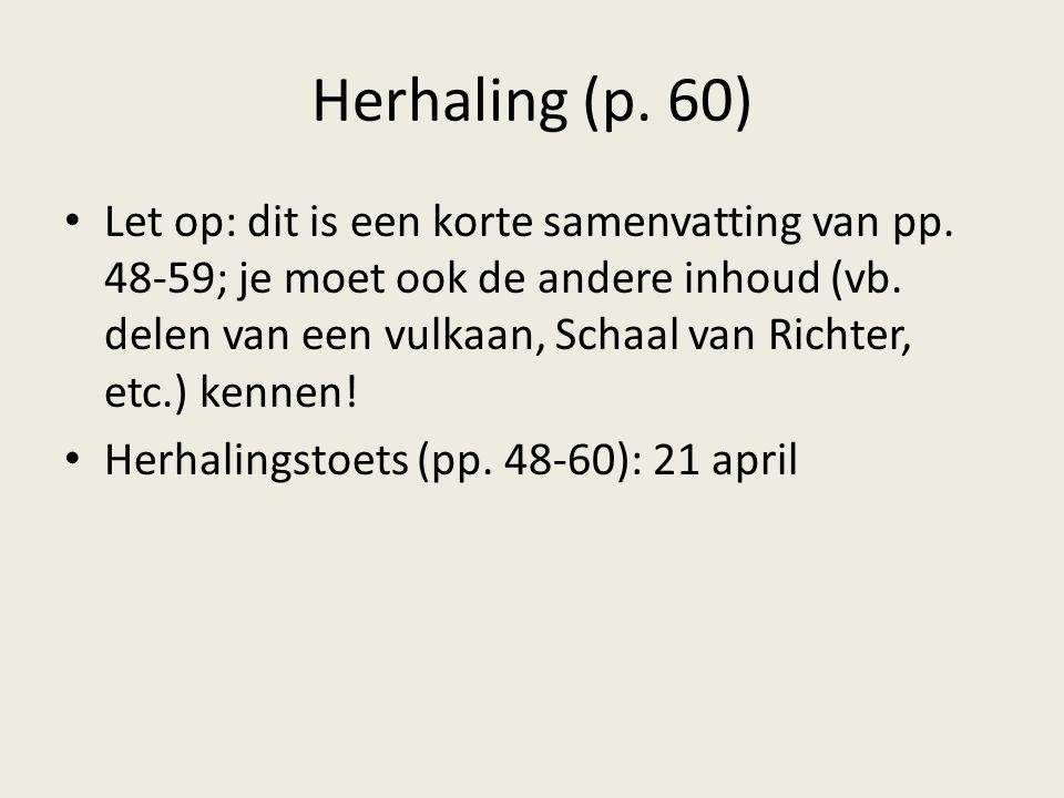 Herhaling (p. 60)
