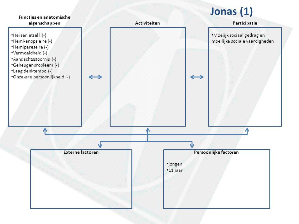 Functies en anatomische Persoonlijke factoren