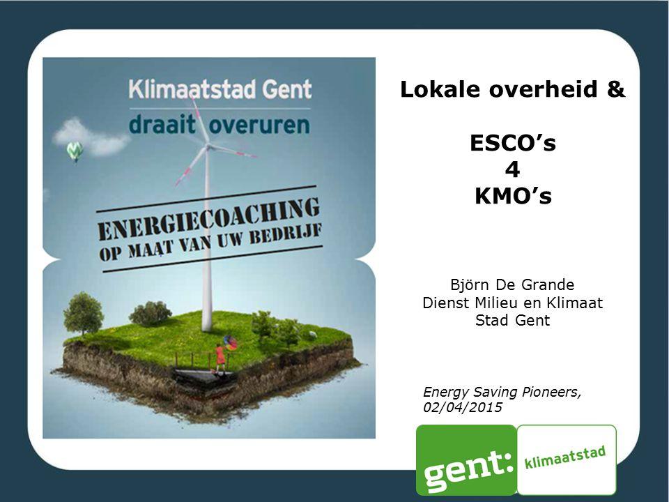 Dienst Milieu en Klimaat