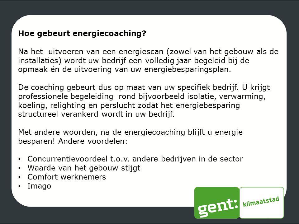 Hoe gebeurt energiecoaching
