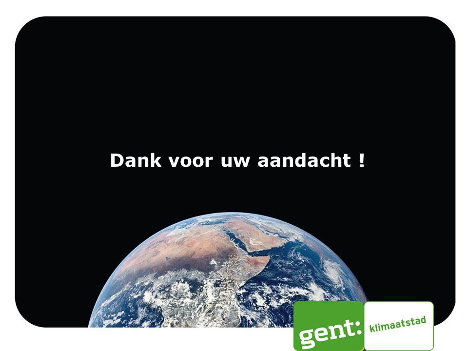 12/09/2012 Dank voor uw aandacht ! Toelichting Klimaatverbond VBO