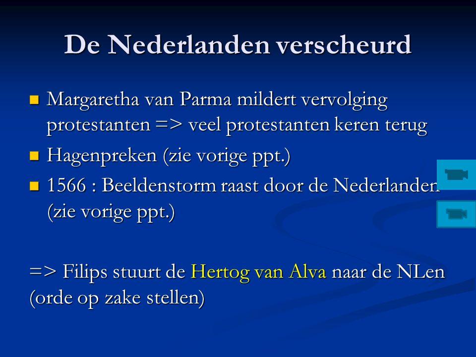 De Nederlanden verscheurd