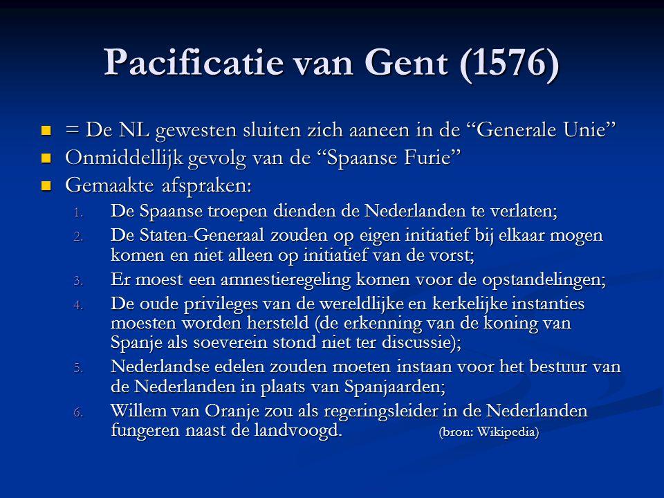 Pacificatie van Gent (1576)