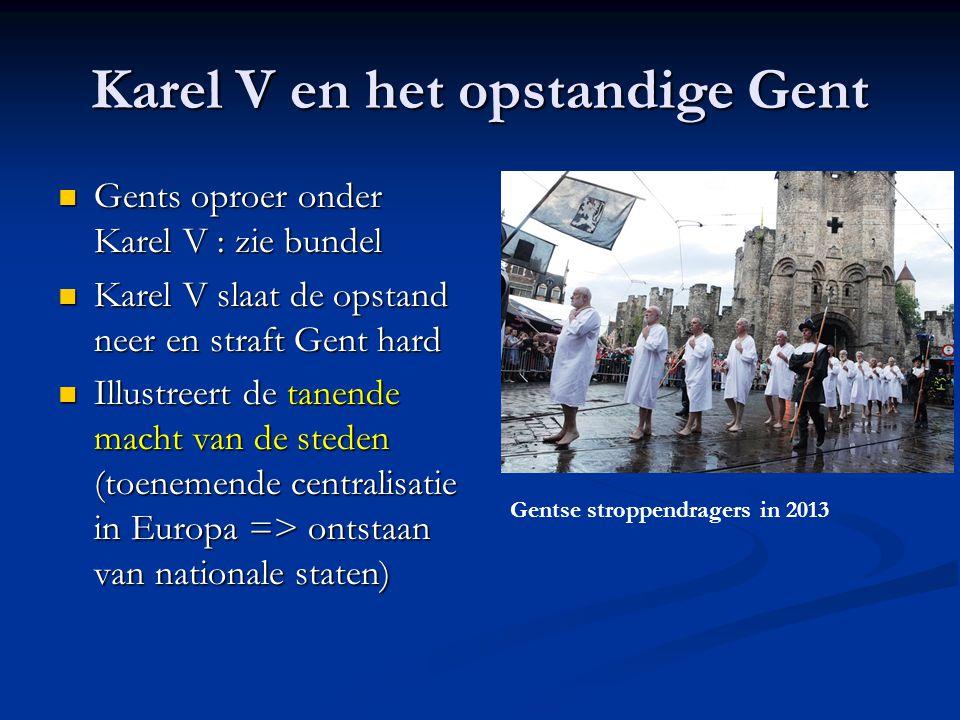 Karel V en het opstandige Gent