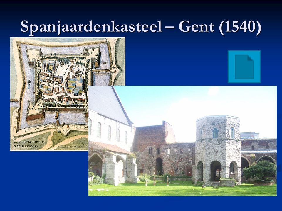 Spanjaardenkasteel – Gent (1540)