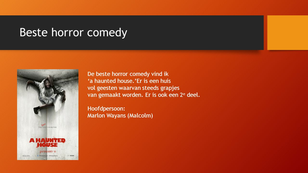 Beste horror comedy De beste horror comedy vind ik